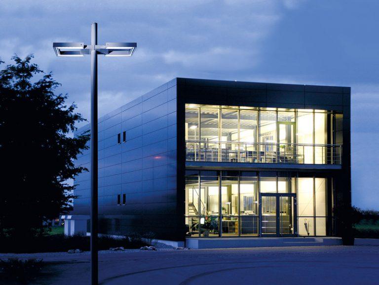 Iluminación exterior e interior de edificios